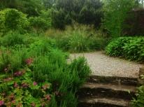 Spring may stipa gigantea grasses terrace tapestry