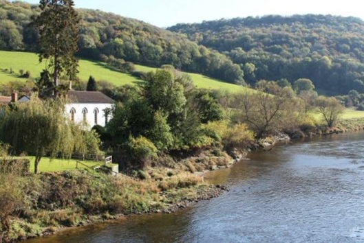 The church on the river bank