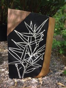 Bamboo sculpture June