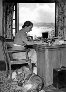 Rumer Godden Dove Cottage Kashmir image courtesy of RG Literary Trust
