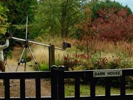 Filming meadow BBC October