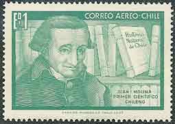 Stamp Juan Ignacio Molinia