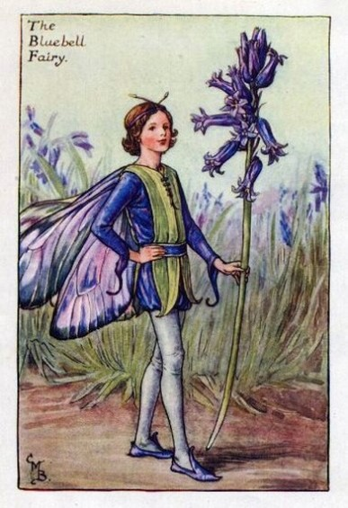 Cicely Mary Barker The Bluebell Fairy