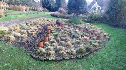 A ring of pots in the meadow