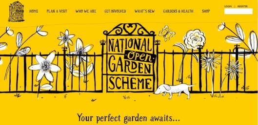 New face of the national garden scheme