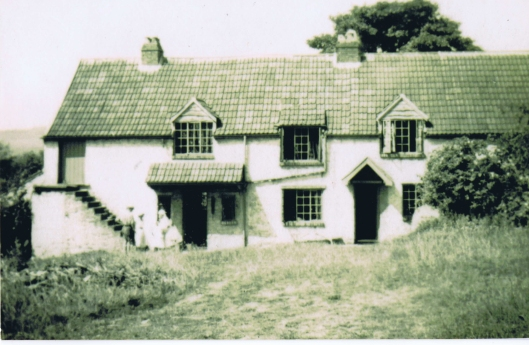 Barn House in the 1940s